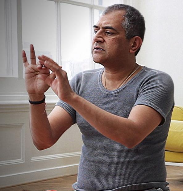 Pranayama & Yoga sutras med Sudhir Tiwari